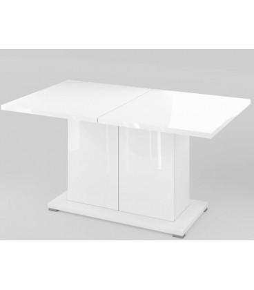 Стол обеденный Сахара арт. 1913 цвет белый лак