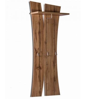 вешалка настенная с полкой Римини арт. 2034