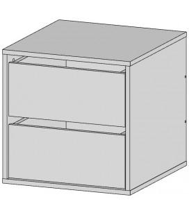Встраиваемая тумба арт. 2715 для шкафа-купе 1200 Аризона