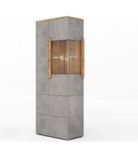Шкаф - витрина 2 ящика Римини арт. 2014 левая
